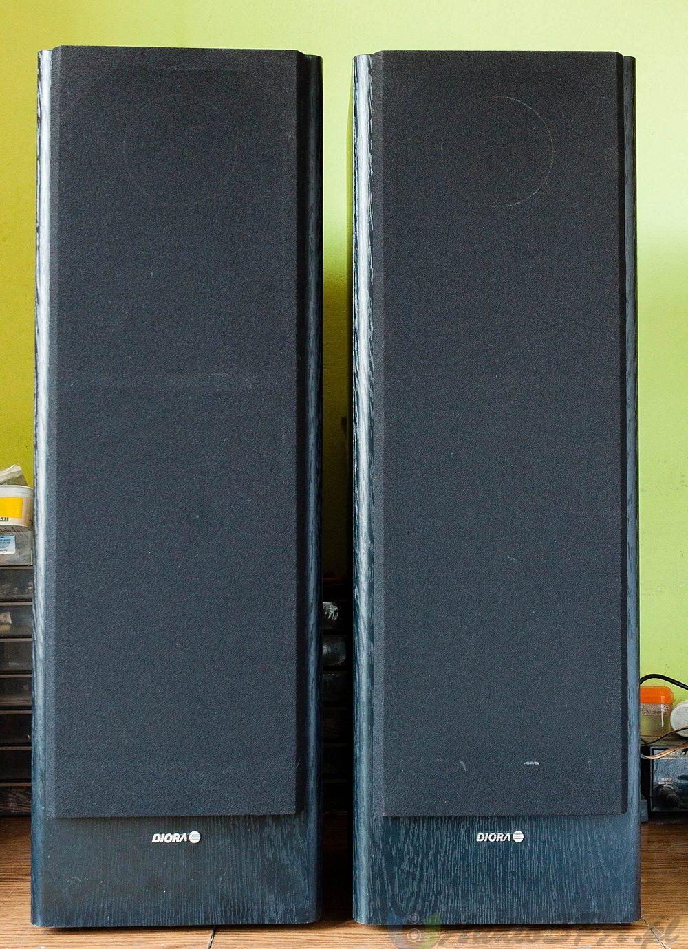 Wygląd oryginalnych Diora ZgB 80-8-903 z maskownicami
